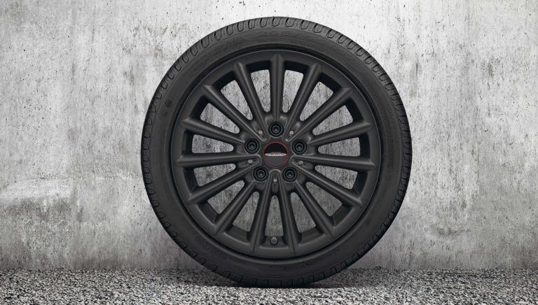 "Llanta JCW Multi Spoke de 17"" – negro Jet Black mate – 505"