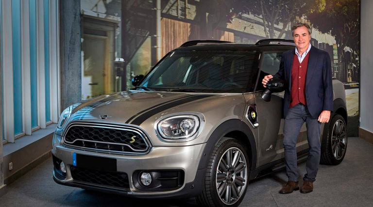 Carlos Sainz, embajador de MINI.