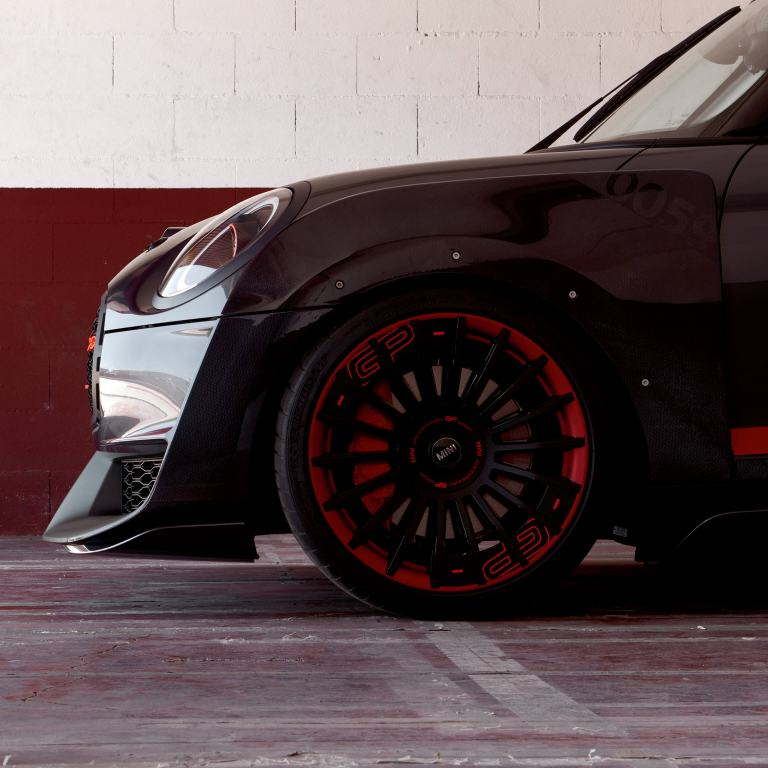 MINI John Cooper Works GP Concept – vista lateral/rueda