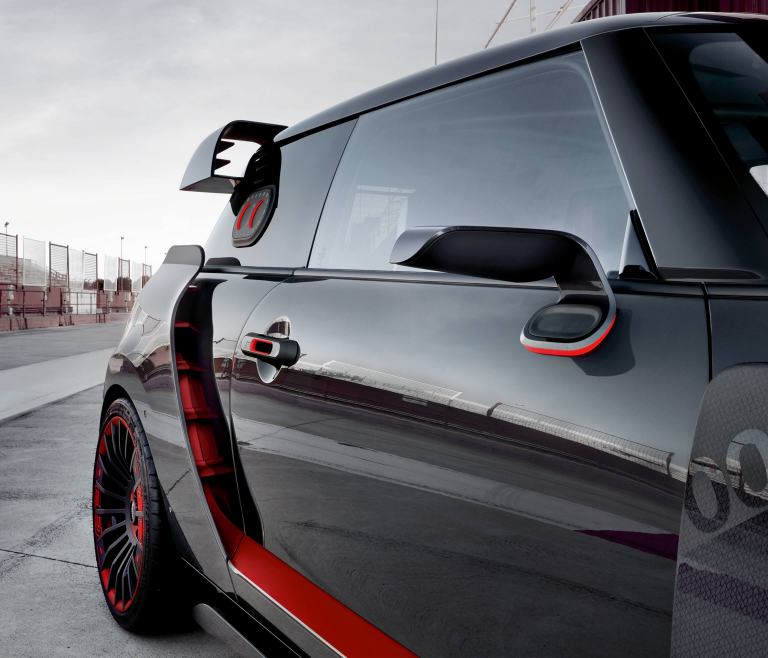 MINI John Cooper Works GP Concept: vista trasera